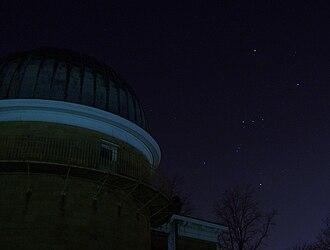 Washburn Observatory - Image: Washburn Orion
