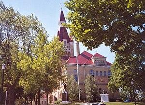 Washington County, Wisconsin - Image: Washington County Wisconsin Court House
