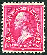 Washington 1895 Issue-2c