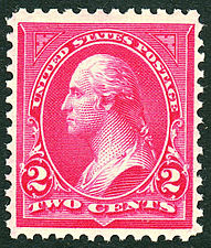 Washington, general issue of 1895, 2c