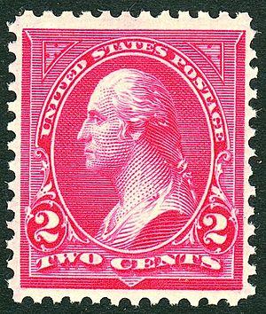 James Sharples - Image: Washington 1895 Issue 2c