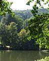 Wasserteich Park Wilhelmshöhe mit Blick auf Löwenburg.jpg