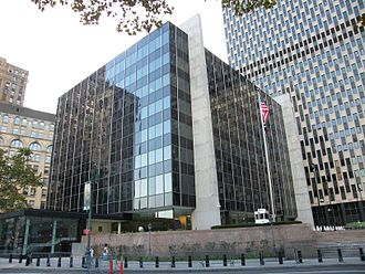 United States Court of International Trade - The James L. Watson Court of International Trade Building on Foley Square.