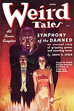 Weird Tales cover image for April 1937