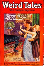 Weird Tales cover image for February 1928