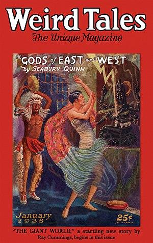 Jules de Grandin - Image: Weird Tales January 1928