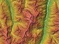 Weisshorn Relief Map, SRTM-1.jpg