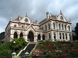 New Zealand Parliament Buildings - Wellington Parliamentary Library building from 1899