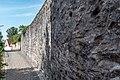 Wemding, Stadtbefestigung, Rennerring, Stadtmauer westlich des Baronturms 20170830 001.jpg