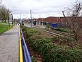 West Bromwich railway station (site) and tram stop, West Midlands (geograph 5661989).jpg