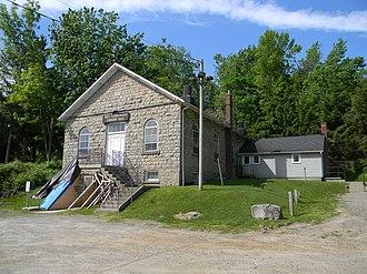 Flamborough, Ontario - Township Hall in West Flamborough