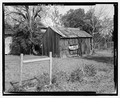 West front - Seed House, State Highway 3-U.S. Highway 19 at Croxton Cross Road, Sumter, Sumter County, GA HABS GA-12-1.tif