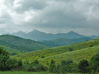 Vagamon - Western Ghats as seen from Vagamon View Point