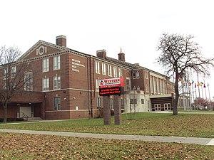 Western International High School - Image: Western International High School (Detroit) 2