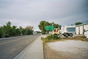 Wheatland, Wyoming - Wheatland city limits