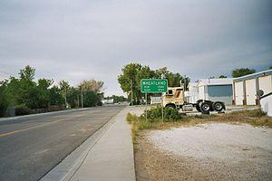 Wheatland, Wyoming - Wheatland city limits