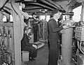 When a Battleship Puts To Sea. 1940, on Board the British Battleship HMS Rodney. A145.jpg