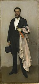 Whistler - Arrangement in Flesh Colour and Black Portrait of Theodore Duret.jpg