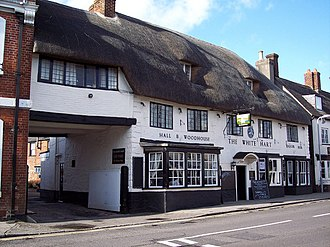Sturminster Newton - Image: White Hart, Sturminster Newton geograph.org.uk 336299