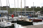Today Whitehills harbour hosts more leisure craft than fishing vessels