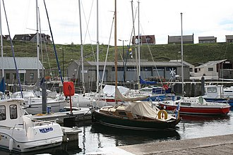 Whitehills - Today Whitehills harbour hosts more leisure craft than fishing vessels