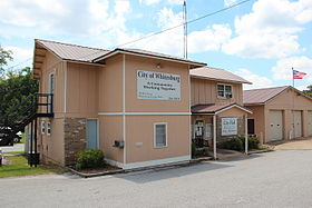 Whitesburg, Georgia city hall.JPG