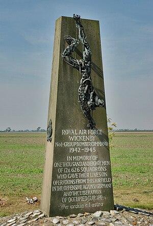 RAF Wickenby - RAF Wickenby Memorial.
