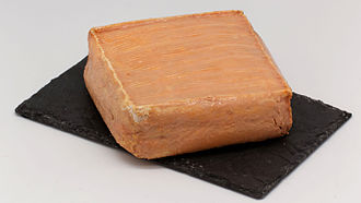 Maroilles cheese - Image: Wiki Cheese Maroilles 20150619 001