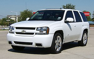 Automotive industry crisis of 2008–10 - A Chevrolet TrailBlazer, one of General Motors' SUVs