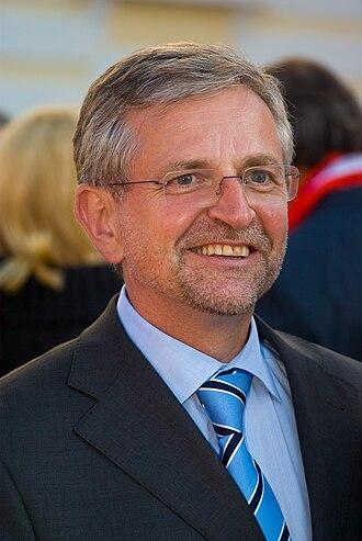 Austrian legislative election, 2008 - Image: Wilhelm Molterer 20080908h