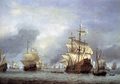 Willem van de Velde, the Younger - The taking of the english flagship the Royal Prince.png