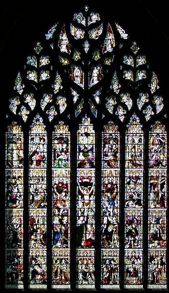 Wilbraham Egerton, 1st Earl Egerton - Window of William and Wilbraham Egerton