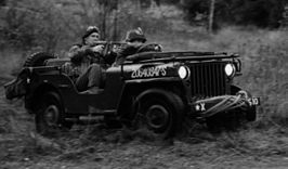 Een Willys MB in Zweden.