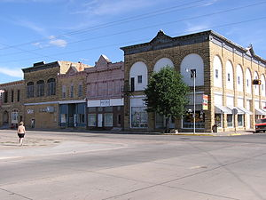 Wilson, Kansas - Downtown Wilson (2008)