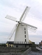 Windmill at Blennerville, Co. Kerry - geograph.org.uk - 249560.jpg