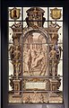 Window, Nebuchadnezzar being driven form his kingdom, Antwerp c1650-1750.JPG