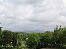 Winter Hill from Parbold Hill