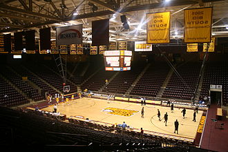 Winthrop Eagles men's basketball - Winthrop Coliseum
