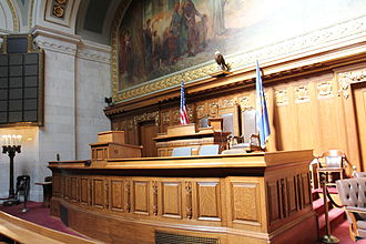 Wisconsin State Assembly - Image: Wisconsin State Assembly Podium