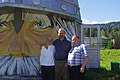With Vladimir Klimov in Front of the Eurasian Yurt (7863587104).jpg