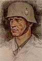 Wolfgang Willrich - Selbstbildnis in Felduniform als Feldwebel, 1941.jpg
