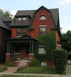 Woodbridge, Detroit - House on Avery
