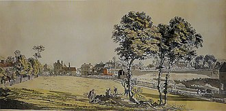 Beresford Square - Image: Woolwich, Green's End, Paul Sandby, c 1790