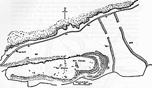 Weston-super-Mare - Plan of Worlebury Camp
