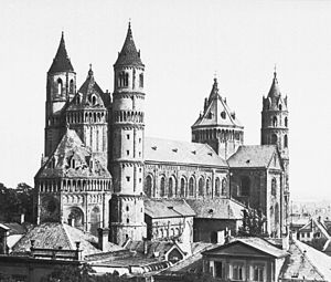 Wormser Dom - St Peter's Dom before 1901