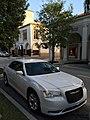 Worth Avenue in Palm Beach Florida with Chrysler 300 white.jpg