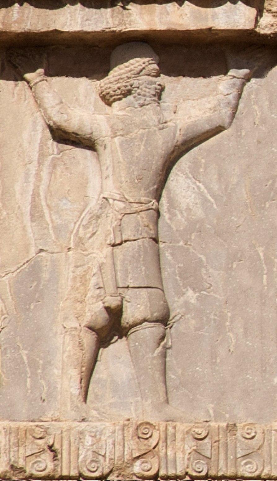 Xerxes I tomb Arachosian soldier circa 470 BCE