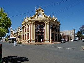 York Town Hall, okcidenta Australia.jpg
