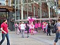Yorkshire Cancer Research, High-Heel-a-thon outside the Victoria Quarter on Briggate in Leeds (24th June 2010).jpg