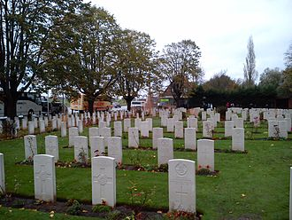 Site John McCrae - Essex Farm CWGC Cemetery